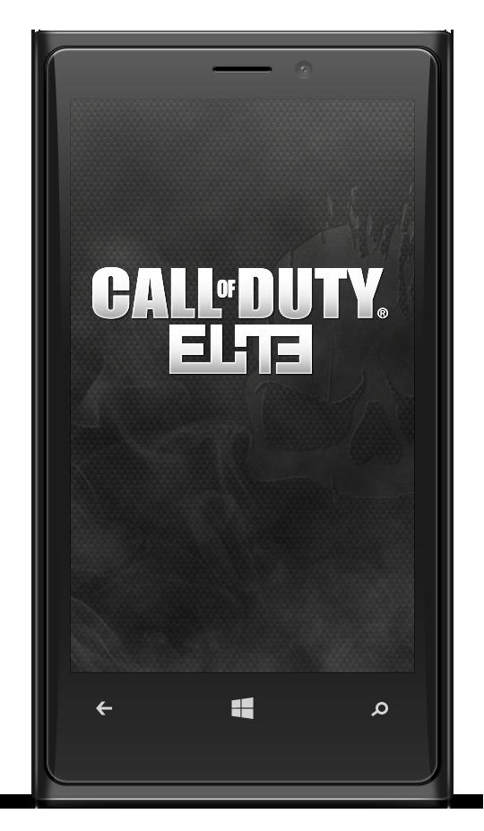 CoD Elite Win8 App