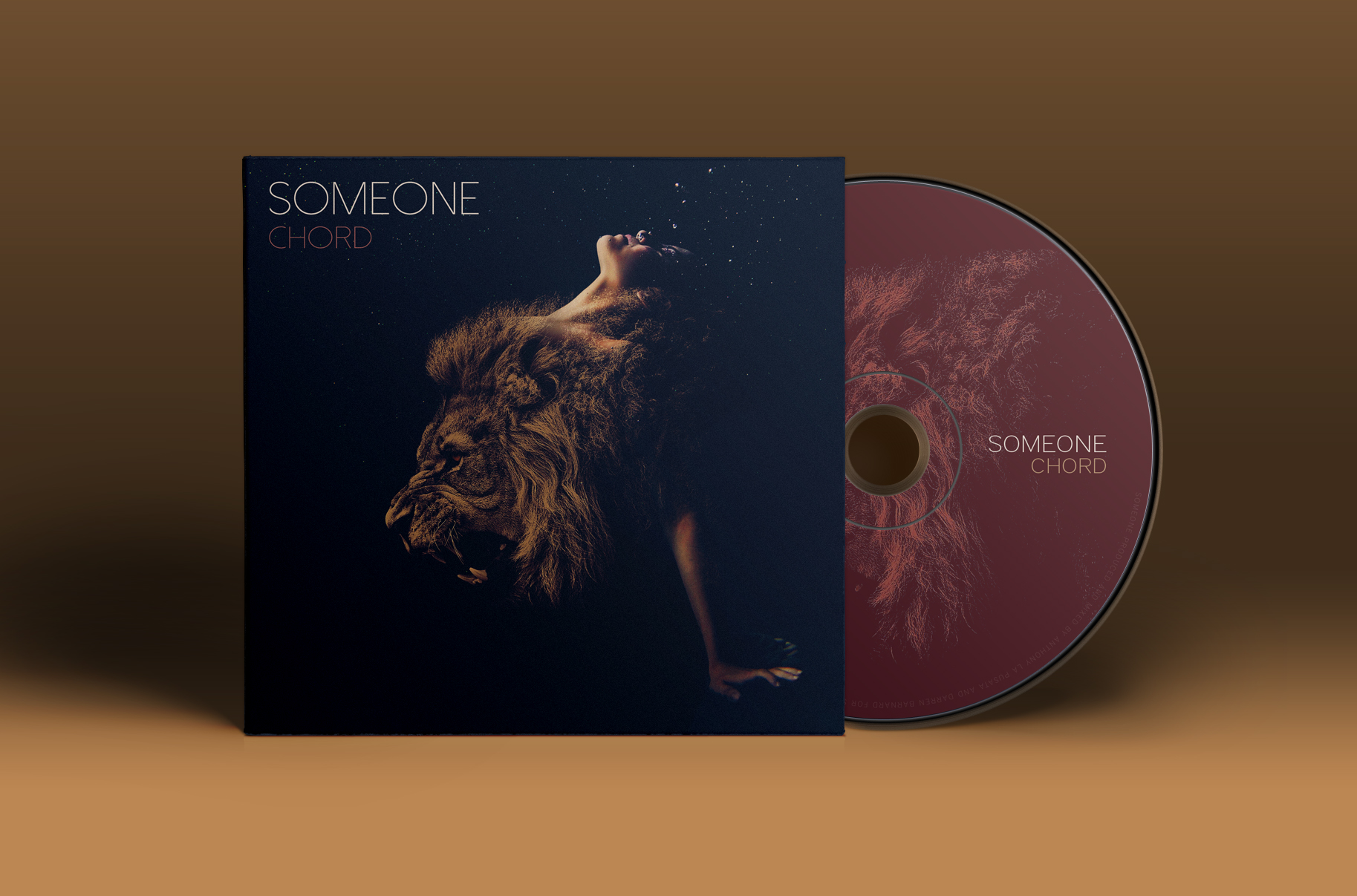 Someone CD Cover Artwork & Packaging